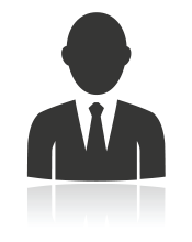 black man silhouette icon depicting linkedin makeover services
